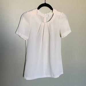 Aritzia t. babaton cream blouse size XXS
